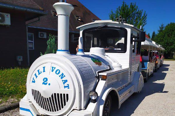 Vili Vonat - Városnéző kisvonat Balatonlelle